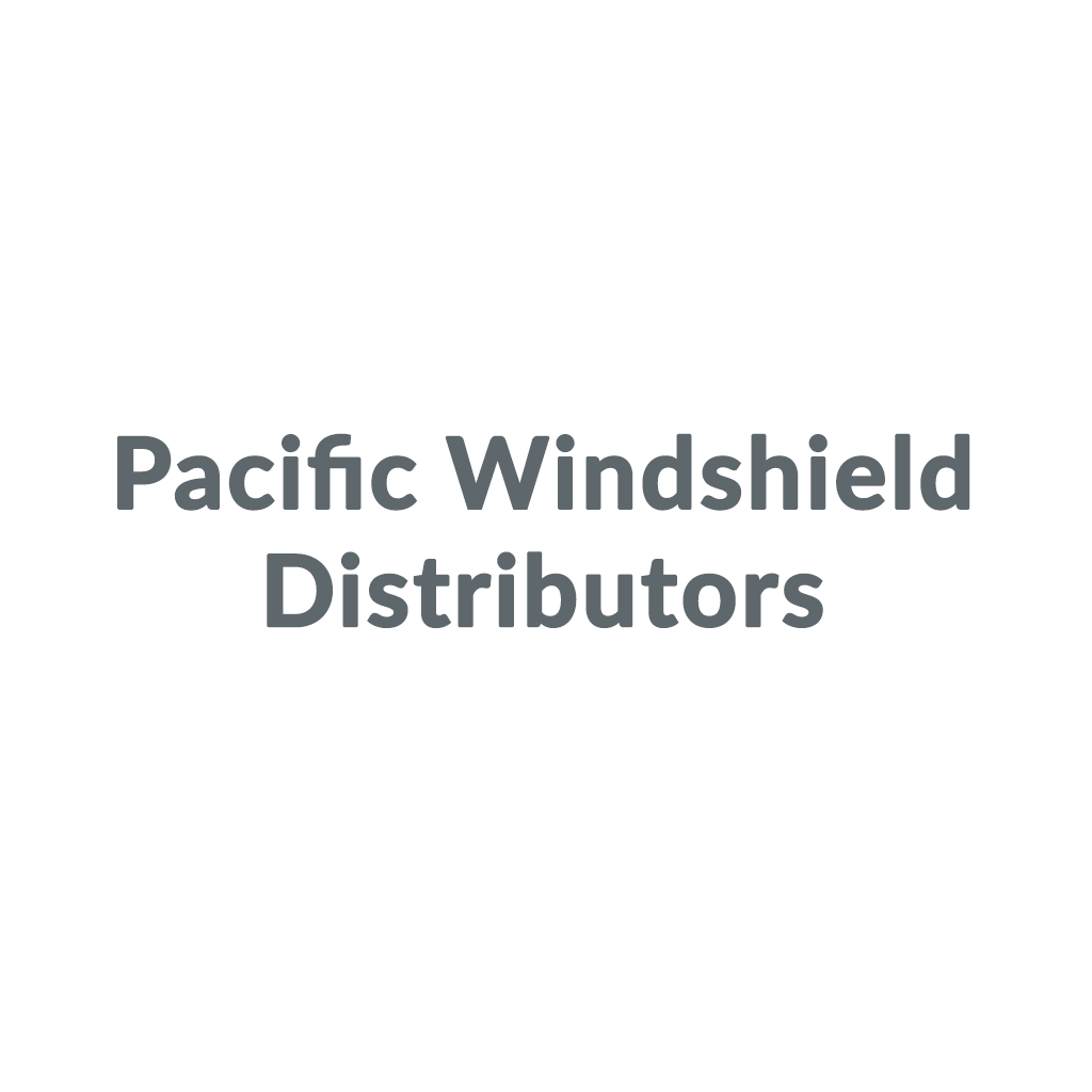 Pacific Windshield Distributors promo codes