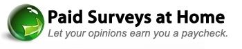 Paid Surveys at Home promo codes