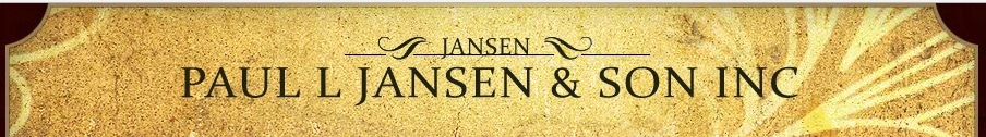 Paul L Jansen and Son INC. promo codes