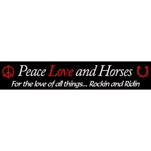Peace Love and Horses promo codes