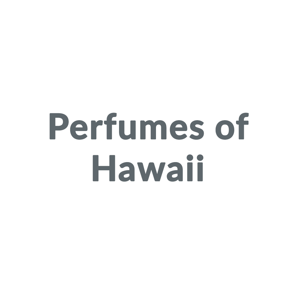 Perfumes of Hawaii promo codes