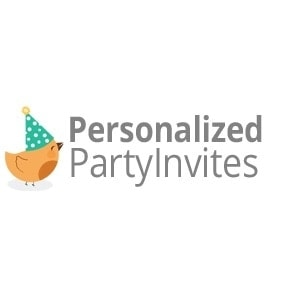 40% off personalized party invites coupon code 2017 (screenshot, Party invitations