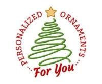 Personalized Ornaments For You promo codes