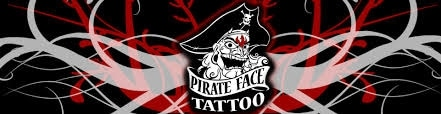 Pirate Face Tattoo