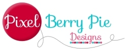 Pixel Berry Pie Designs