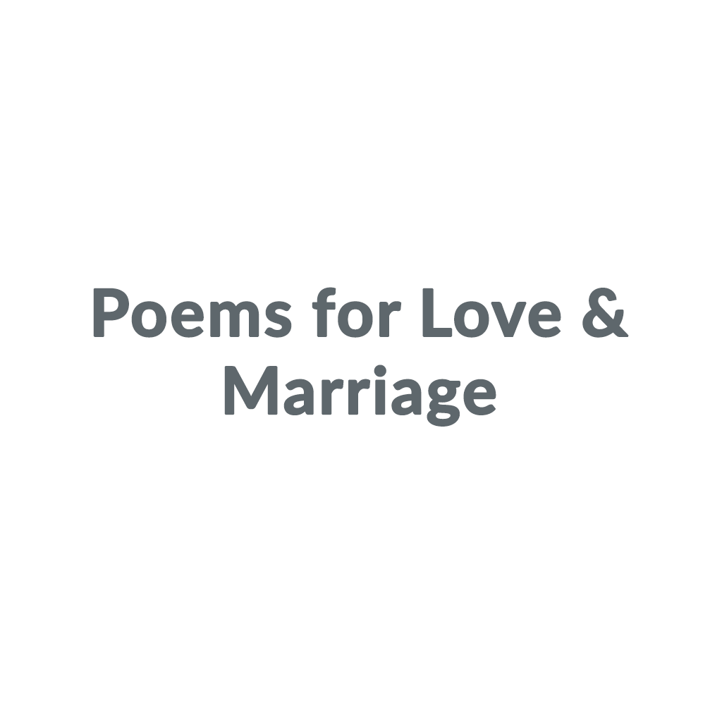 Poems for Love & Marriage promo codes