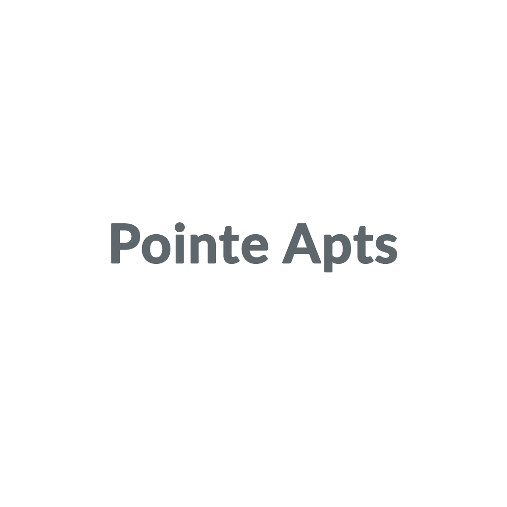 Pointe Apts promo codes