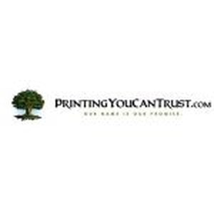 Printing You Can Trust promo codes
