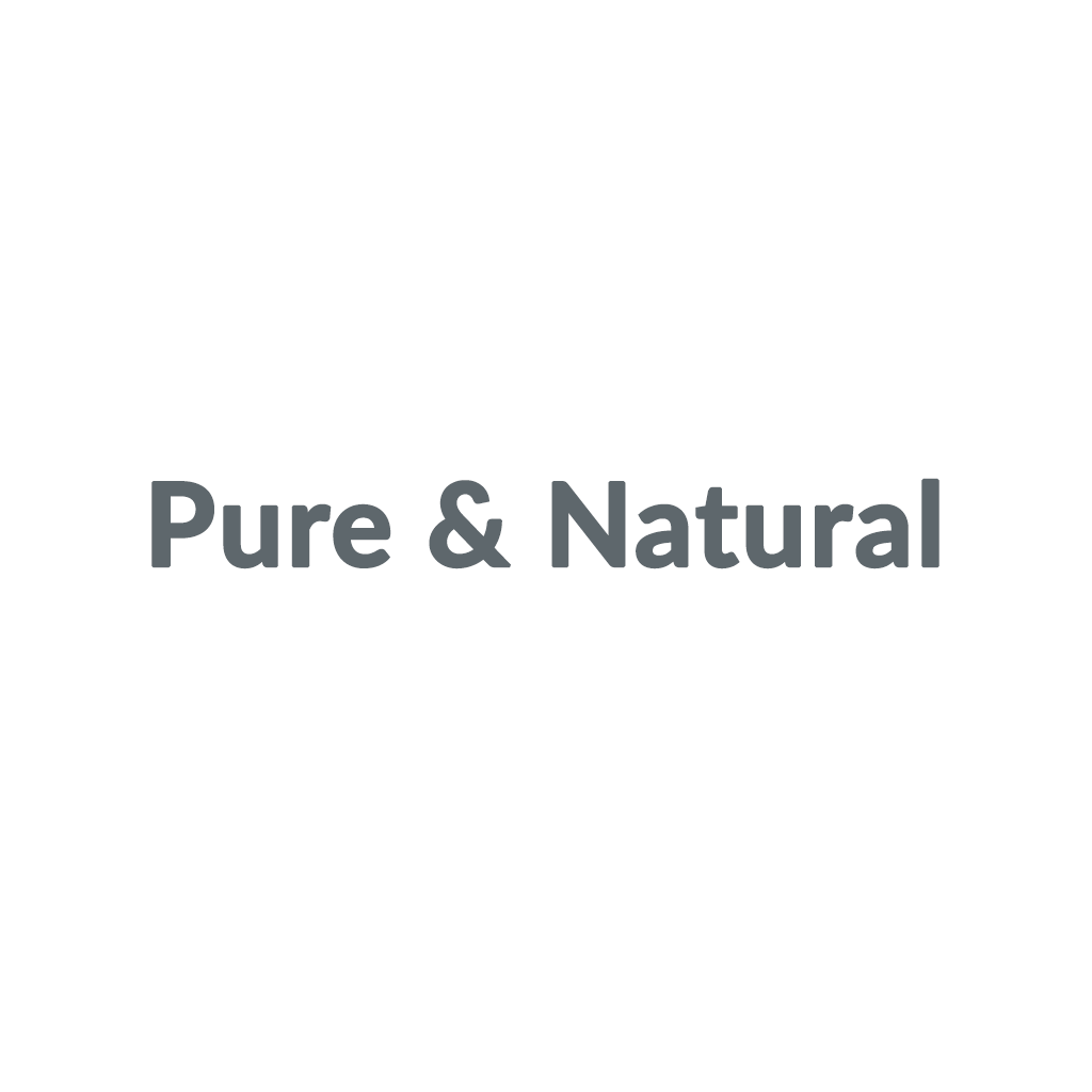 Pure & Natural promo codes