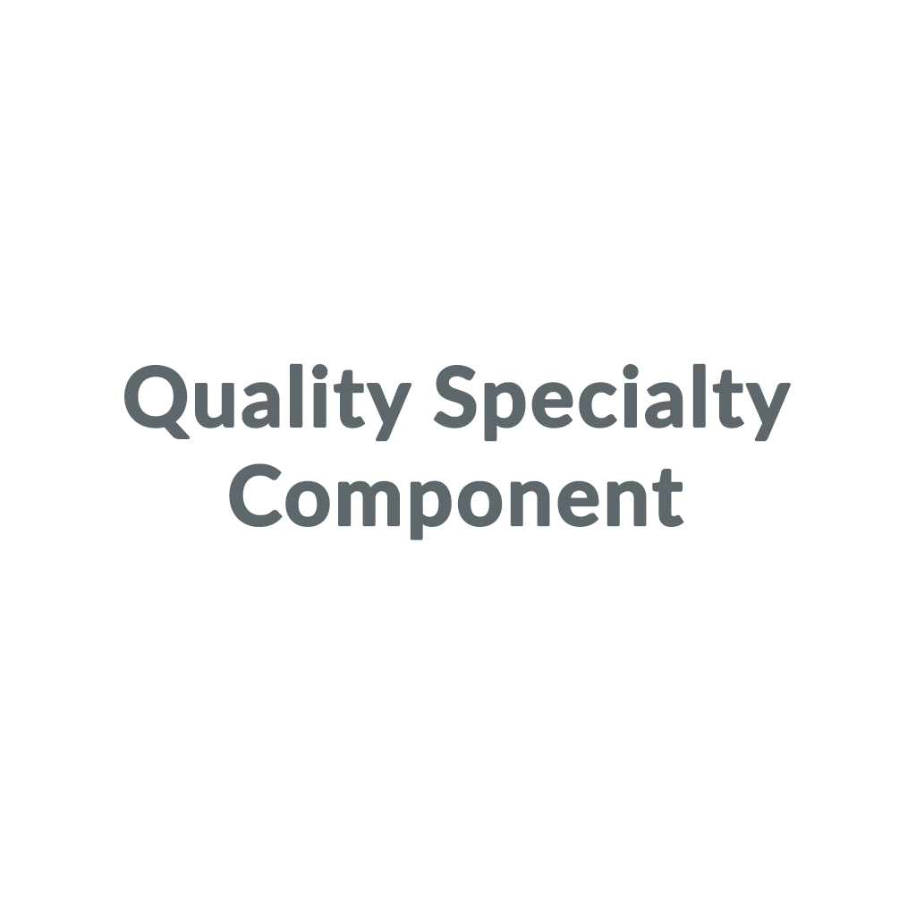 Quality Specialty Component promo codes