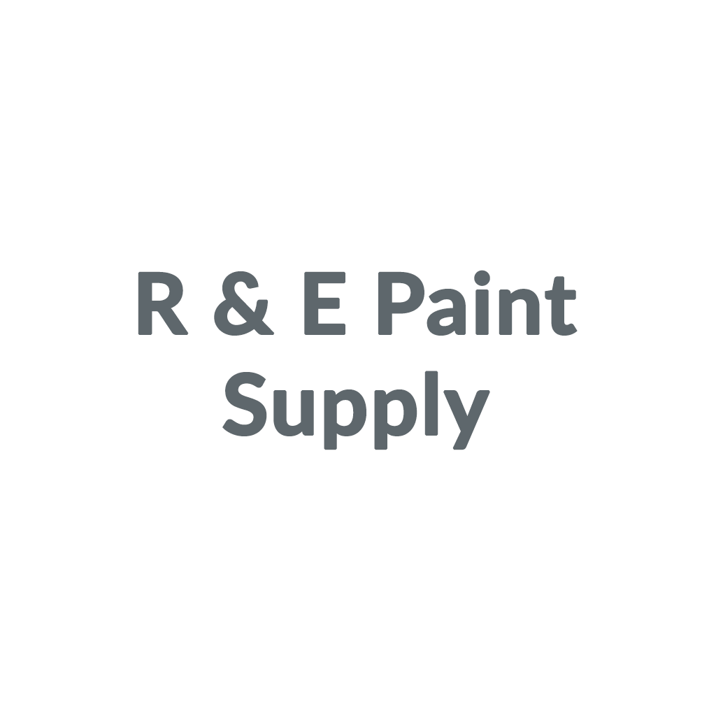 R & E Paint Supply promo codes