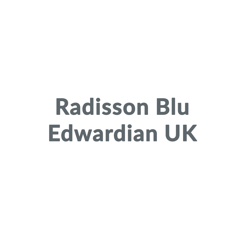 Radisson Blu Edwardian UK promo codes