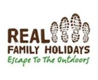 Real Family Holidays promo codes
