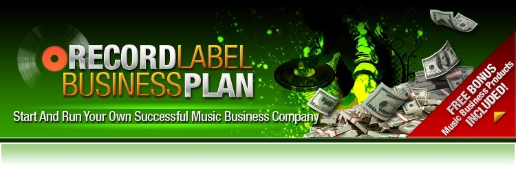 Record Label Business Plan promo codes