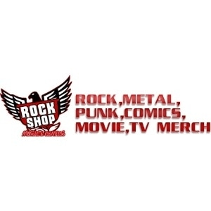 Rock Shop Music and Comics promo codes