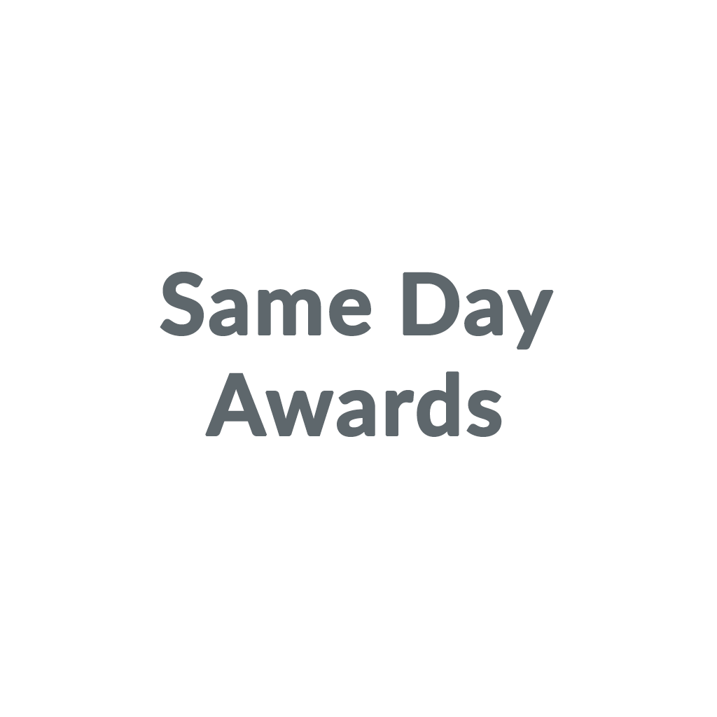 Same Day Awards promo codes