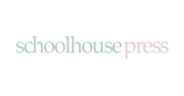 50% Off Schoolhouse Press Coupon Code (Verified Oct '19