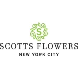 Scotts Flowers NYC promo codes