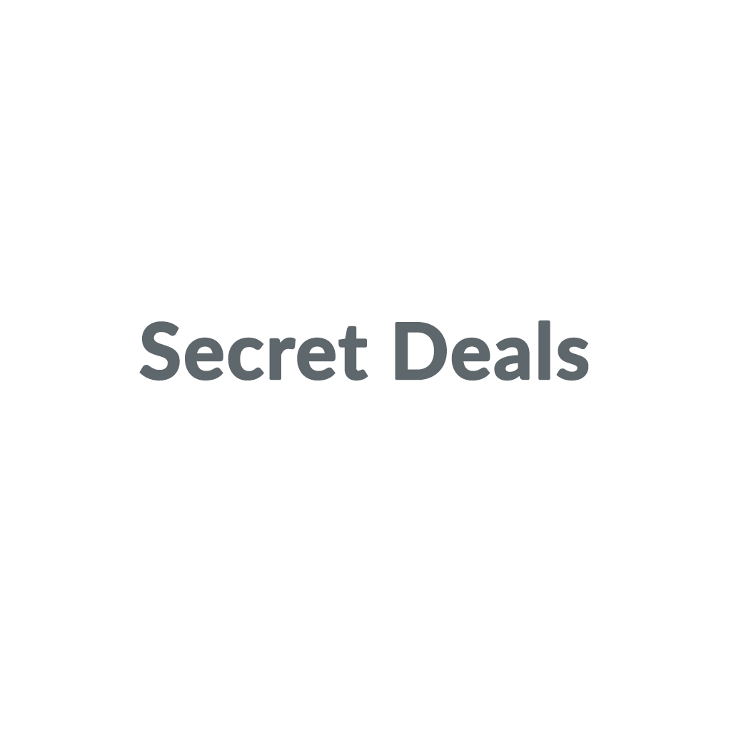 Secret Deals promo codes