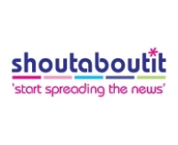 Shoutaboutit promo codes