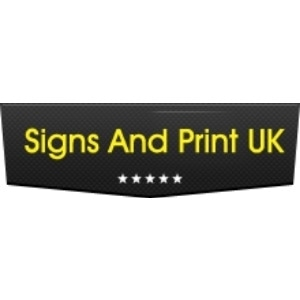 Signs And Print UK promo codes