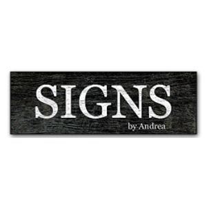 Signs by Andrea