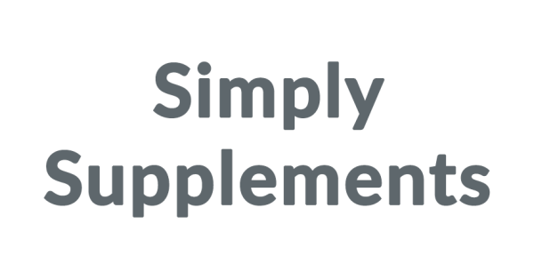 Simply Supplements Coupon Codes Simply Supplements is one of the UK's largest online retailer of vitamin and mineral food supplements.