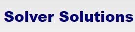 Solver Solution