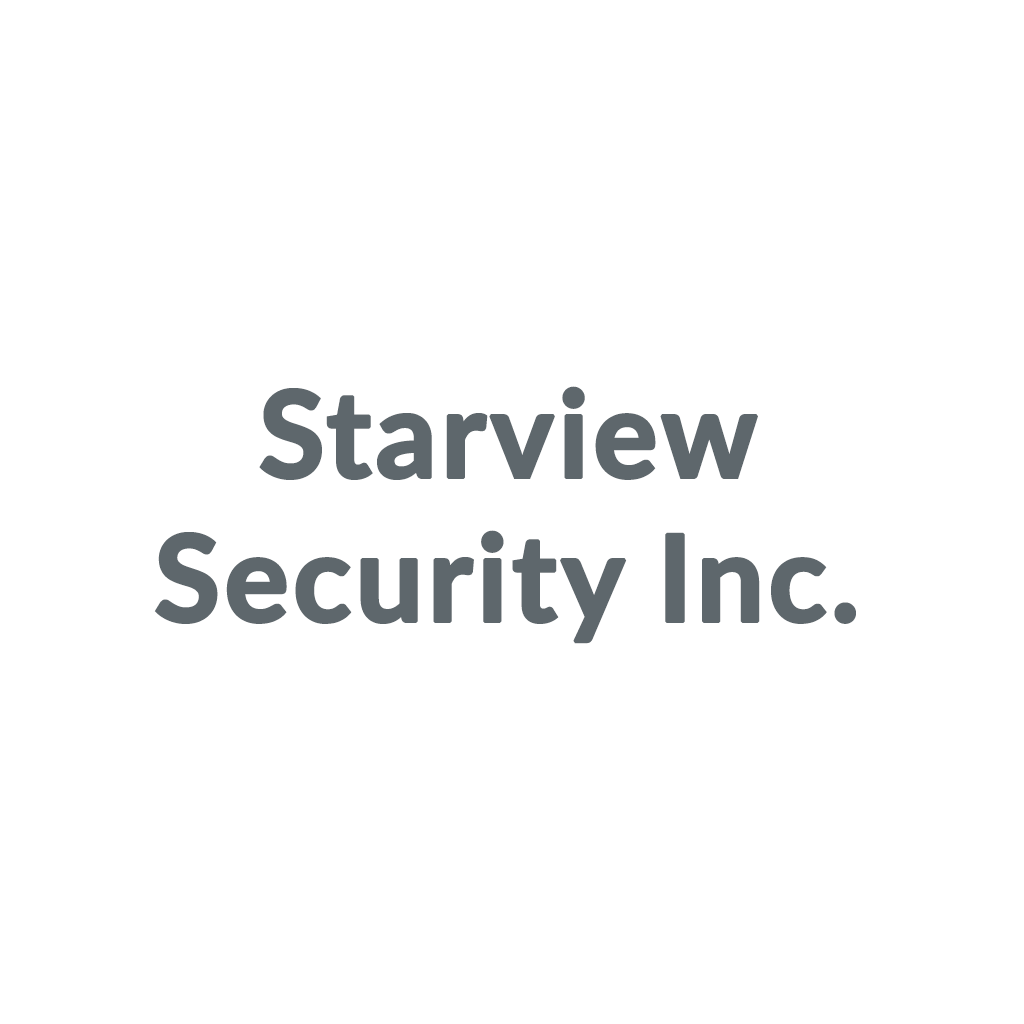 Starview Security Inc. promo codes
