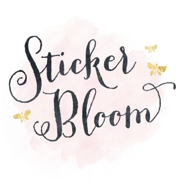 Sticker Bloom