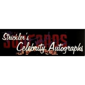Strickler's Celebrity Autographs promo codes