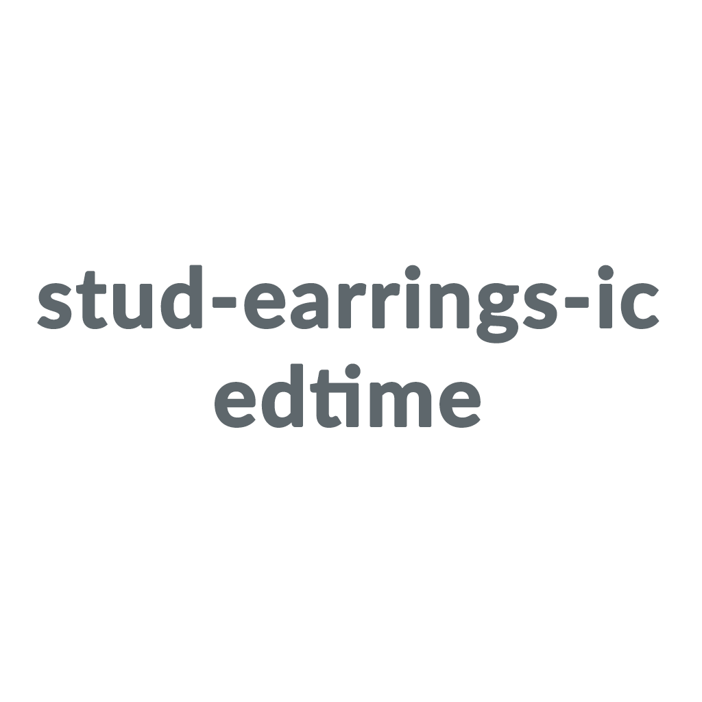 stud-earrings-icedtime promo codes