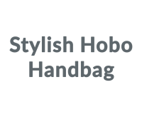 Stylish Hobo Handbag promo codes