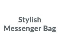 Stylish Messenger Bag promo codes