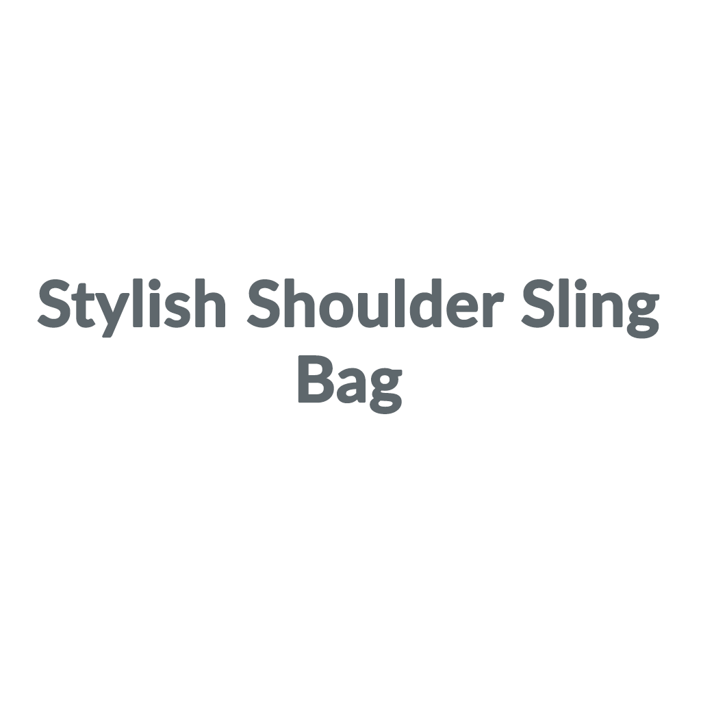 Stylish Shoulder Sling Bag promo codes