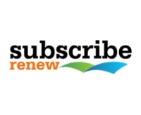 Subscribe Renew promo codes
