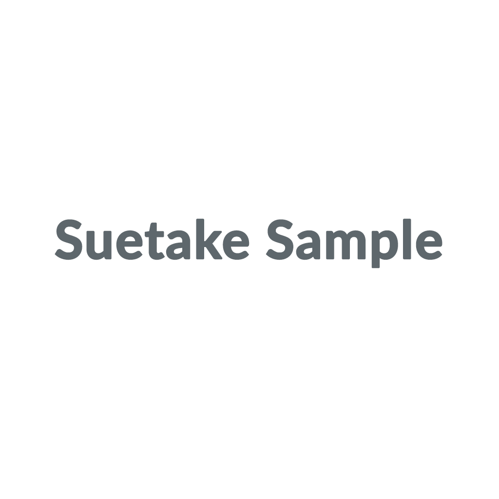Suetake Sample promo codes