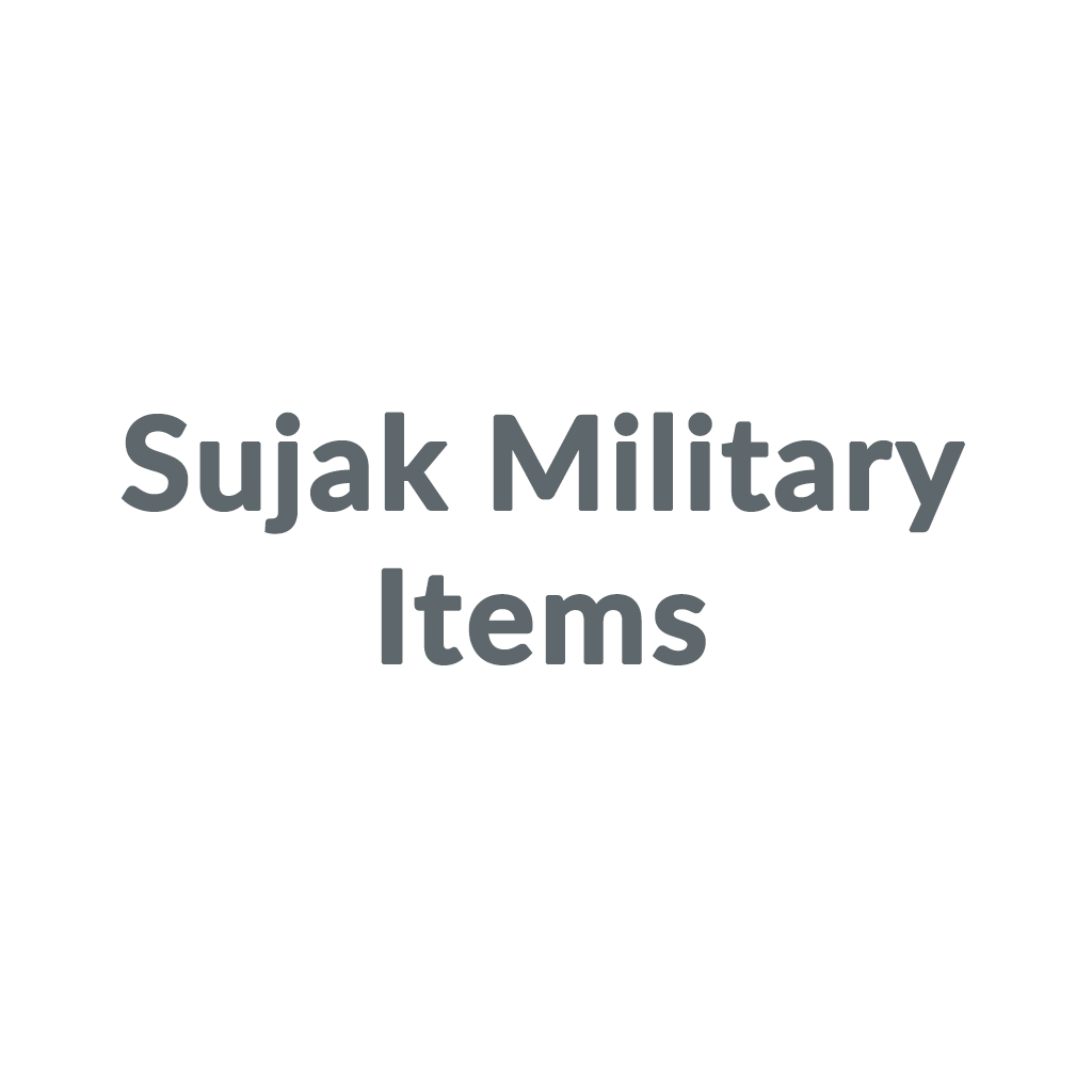 Sujak Military Items promo codes
