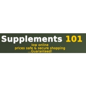 Supplements 101 promo codes