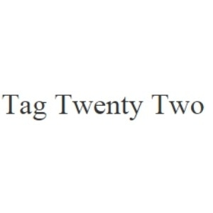 Tag Twenty Two promo codes