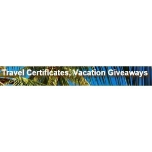 Travel Certificates promo codes