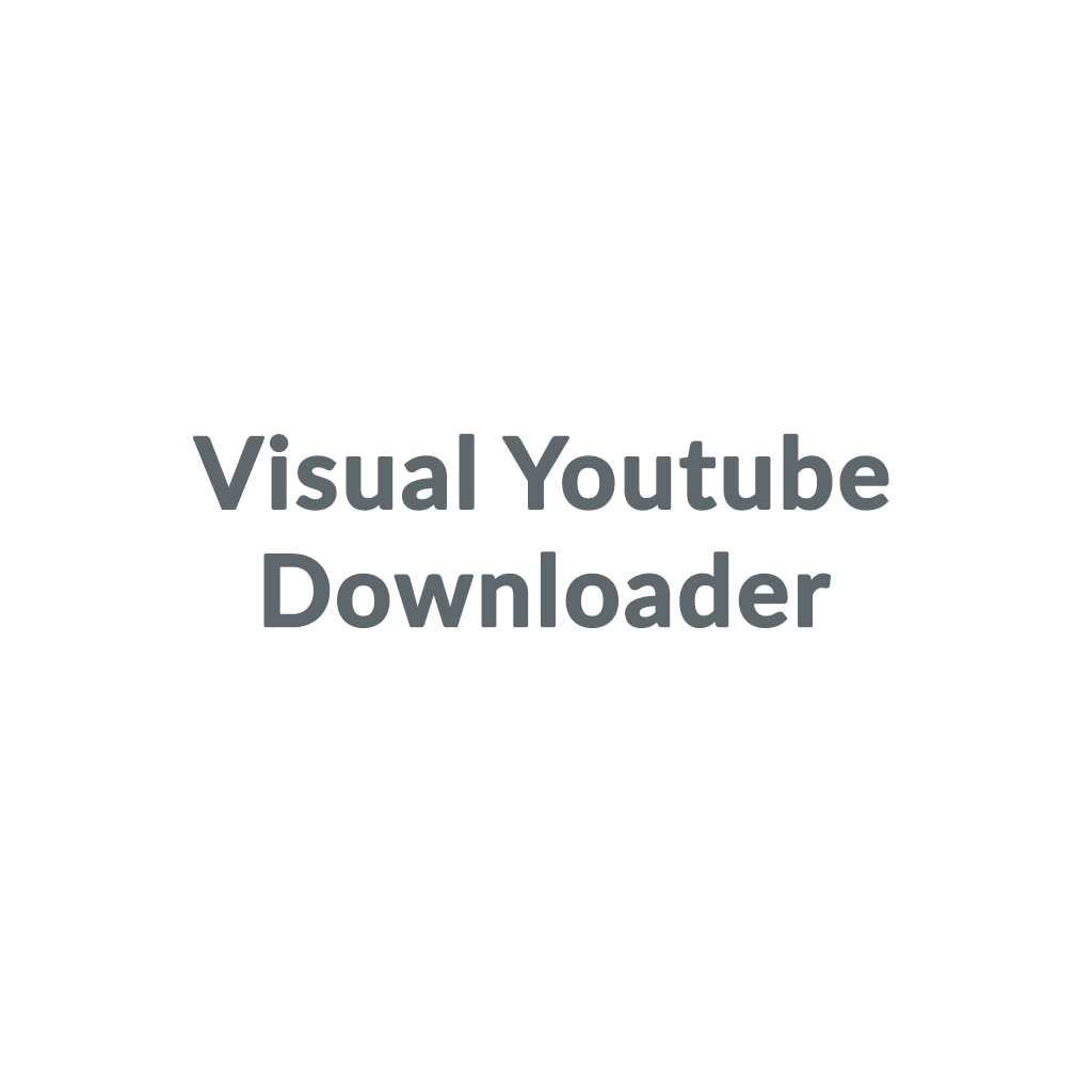 Visual Youtube Downloader
