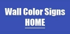 Wall Color Signs promo codes