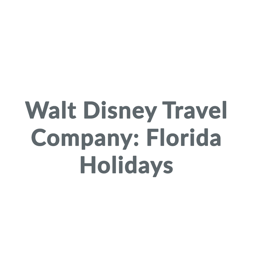 Walt Disney Travel Company: Florida Holidays promo codes