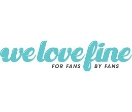 Welovefine promo codes