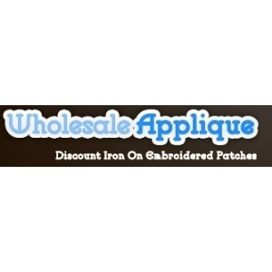 Wholesale Applique promo codes