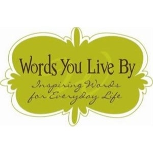 Words You Live By promo codes