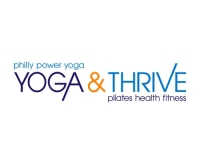 Yoga and Thrive promo codes