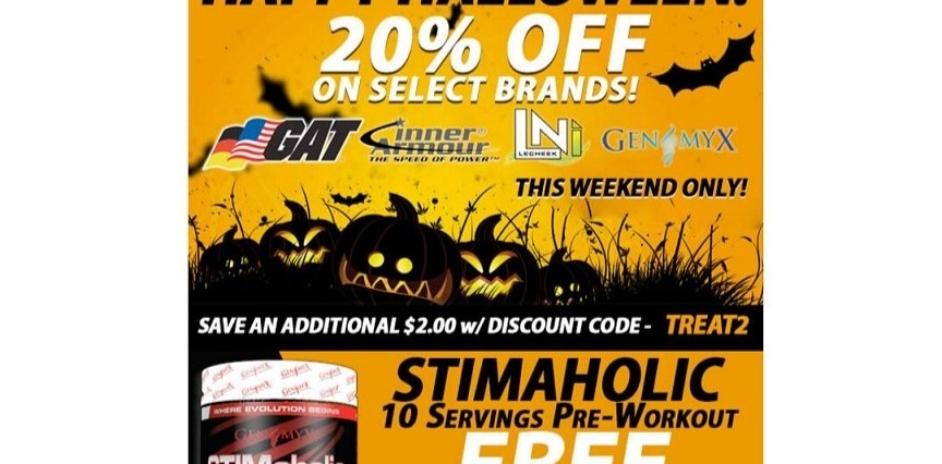 Discount coupons for supplement warehouse