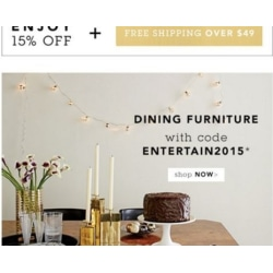 Today's top Dwell Studio coupon: Free Shipping Over $ Get 3 coupons for